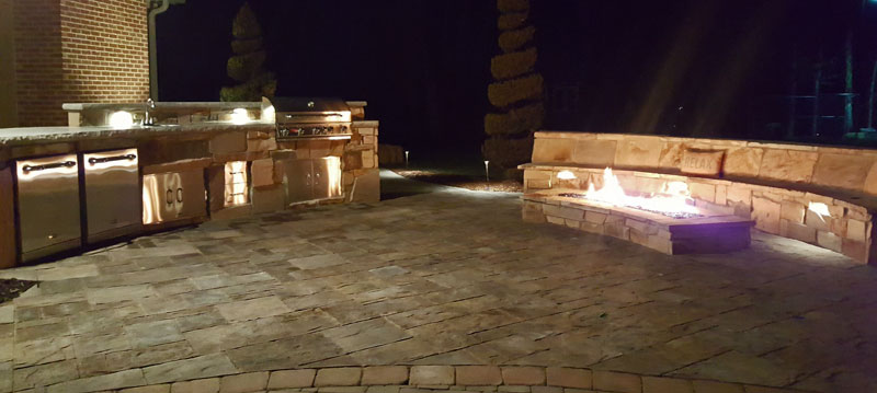 Tennessee Hardscape Outdoor Kitchen Photo